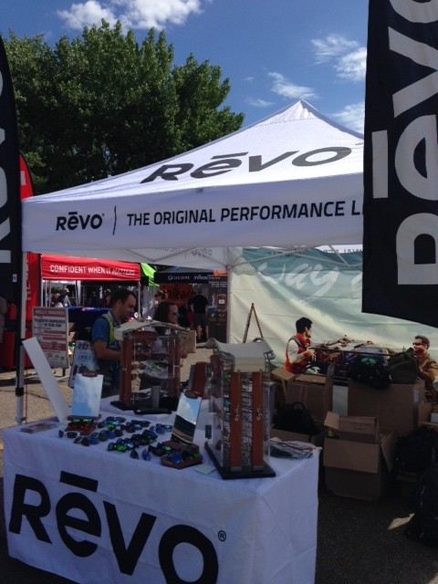 Revo relaunched to retailers at the outdoor demo, showcasing its stylish new Spring '15 line.